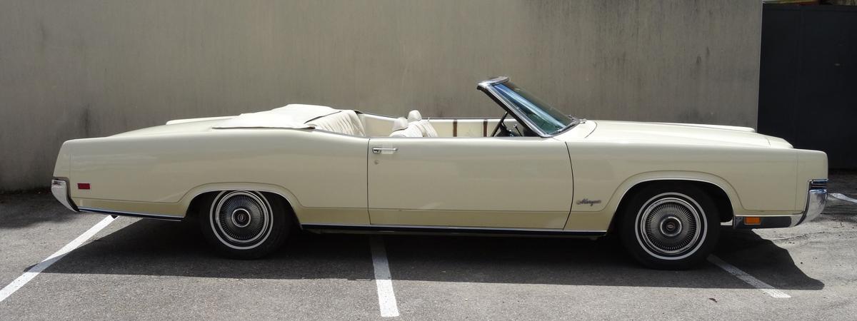 En vente : Mercury Grand Marquis Cabriolet 1970