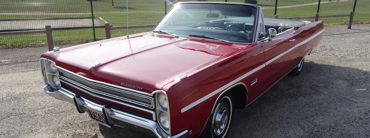 En vente : Plymouth Fury 3 Convertible 1968